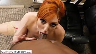 Naughty America - new guy at work gets lucky with the bosses wife