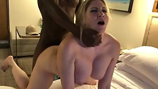 Amber Heart aka hottwife09 gets roughly fucked by BBC