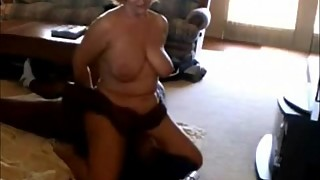 Mature Wife Rides Her Black Boyfriend'_s Face