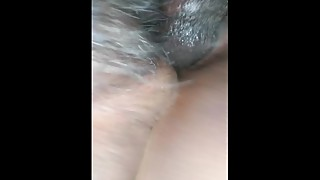BBC fucks juicy BBW wife she squirts and cremes all over him