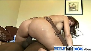 Hard Black Dick Inside Wet Horny Milf (syren demer04) clip-26