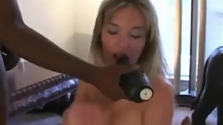 Sexy Slut Wife Takes Three BBCs