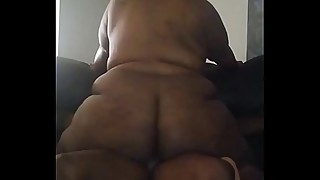 Lettin her bounce that big beautiful ass on my cock until I can&rsquo_t take it!!