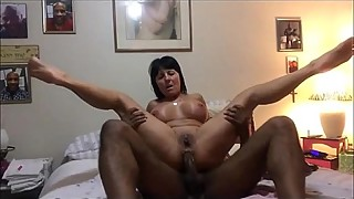 Wife Spread Eagle For a BBC