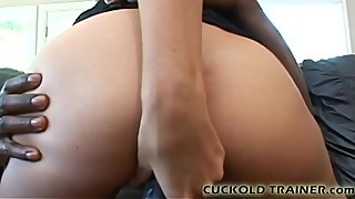 Watch his big black cock beat up my pussy