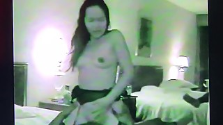 CUCKOLD. Thai wife feels BBC in her stomach.
