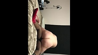 Wife fucks bbc while hubby watches