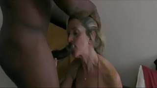 Blonde wife enjoys fucking BBC