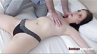 My Wife Present 18yo BDSM craving pussy for my BDAY- Bambi Black