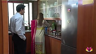 Lonely beautiful wife falls prey to husband'_s pervy boss Niks Indian
