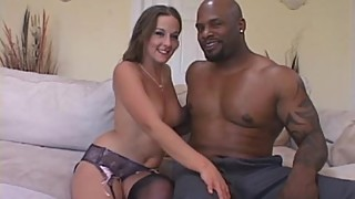 White Wifey Explores Black Cock Surprise