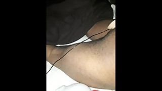 Black Husband takes white dildo wife film
