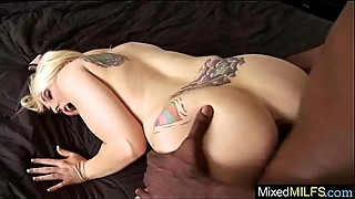 Huge Black Cock Fill Wet Mature Hot Lady Holes movie-07