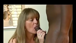Mature wife sucks and fucks a BBC