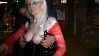 The Arizona HotWife parties at a Tucson Bar