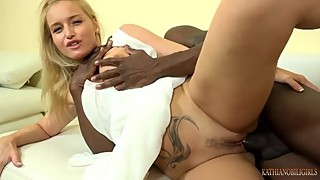 You beautiful WIFE fucks 11 inches black cock right front of you!!!