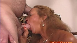 My SLUTTY GRANNY gets a DP