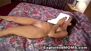 Amateur Mom takes a Pussy Pounding from a Big Black Cock in Interracial Video