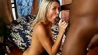 Skinny blonde fucked by bbc