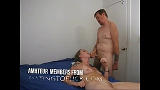 Wife having orgasm from anal BBC