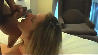 Hot slut mature wife gets banged by young bro with a fro