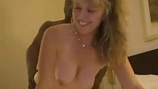 Hubby films happy wifey with BBC