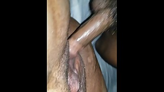 Smashing wife juicy squirtin pussy