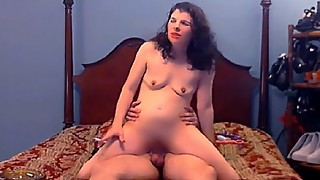 Husband Catches Smoking Slut Wife Fucking a BBC Dildo and Likes It Part 2
