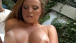 big oily ass slutty mommy fucked interracial anal